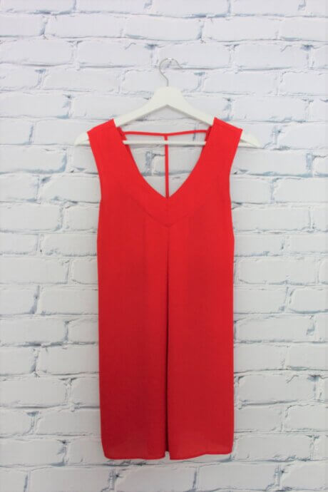 Camisole propre rouge
